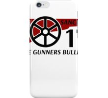 Sanchez The Gunners Bullet iPhone Case/Skin