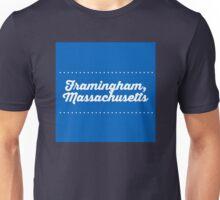 Framingham Massachusetts  Unisex T-Shirt