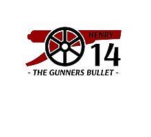 Henry Gunners Bullet Photographic Print