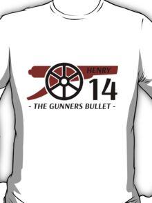 Henry Gunners Bullet T-Shirt