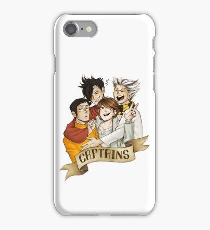 Haikyuu!! Captains iPhone Case/Skin