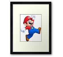 Super Mario Bros.  Framed Print