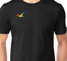Rainbow Bird - Seagull - LGBT - (Designs4You) Unisex T-Shirt