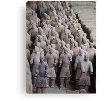 The Terracotta Warriors, Xian China. Canvas Print