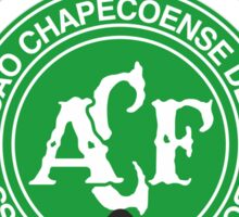 We are with you chapecoense Sticker