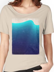 Blue Wave Women's Relaxed Fit T-Shirt