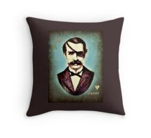 Midnight Dandy Throw Pillow