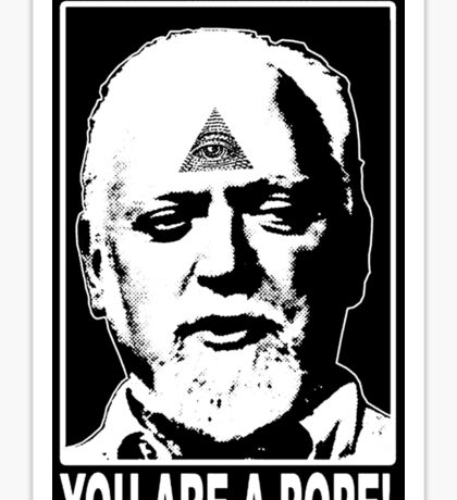 You Are A Pope! Sticker