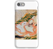 Dream of Fisherman's Wife, Hot Sex, Japanese Shunga art iPhone Case/Skin
