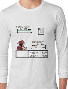 pokemon battle Long Sleeve T-Shirt