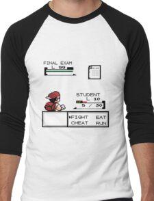 pokemon battle Men's Baseball ¾ T-Shirt