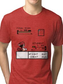 pokemon battle Tri-blend T-Shirt