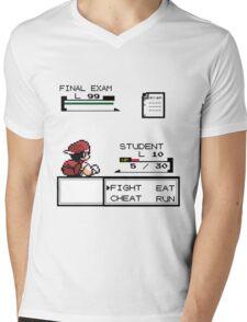 pokemon battle Mens V-Neck T-Shirt
