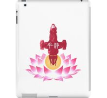 Serenity in Bloom iPad Case/Skin