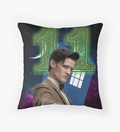 Eleventh Throw Pillow
