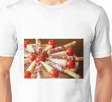 Close up of an Italian chopping board Unisex T-Shirt