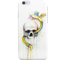 Adventure through Time and Face iPhone Case/Skin