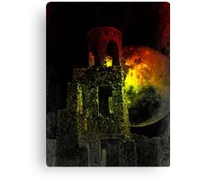 The Ruins Of Blarney Castle Ireland Canvas Print