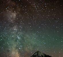 Twilight Heaven on the Hood by Bill Lane