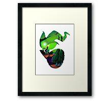 Earthworm Jim Framed Print