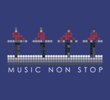 PIXEL8 | Music Non Stop | Kraftwerk Red by 8eye