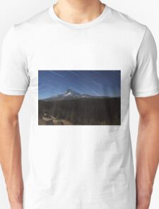 Star Trails Over Mt. Hood T-Shirt