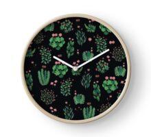 green garden Clock