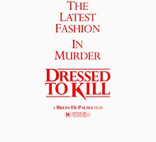 DRESSED TO KILL Womens Fitted T-Shirt