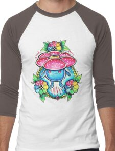 Vileplume Men's Baseball ¾ T-Shirt