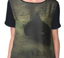 There's A Rumour Of A Witch In The Wood Chiffon Top