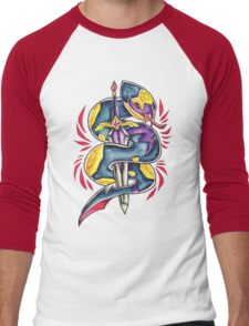 Seviper Men's Baseball ¾ T-Shirt