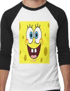 design art cartoon naruto music sponge bob Men's Baseball ¾ T-Shirt