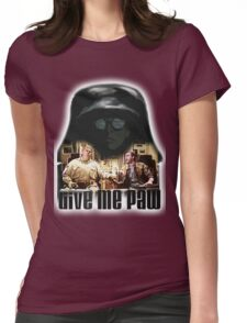 Give me paw Womens Fitted T-Shirt