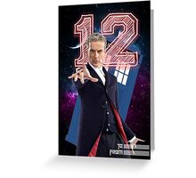 12th Doctor - Greeting Card Greeting Card