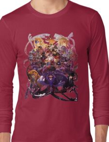 Blazblue Central Fiction All Characters Long Sleeve T-Shirt