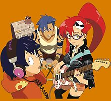 Gurren Lagann by Whitedark