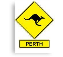 Perth, Western Australia - Kangaroos Gone Wild Canvas Print