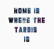 Home Is Where The Tardis Is T-Shirt Men's Baseball ¾ T-Shirt