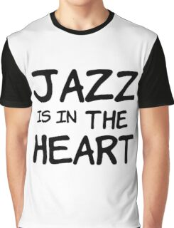 cool jazz is in the heart music t shirts Graphic T-Shirt
