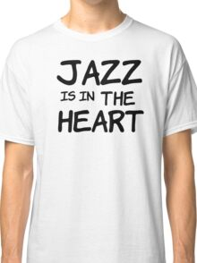 cool jazz is in the heart music t shirts Classic T-Shirt