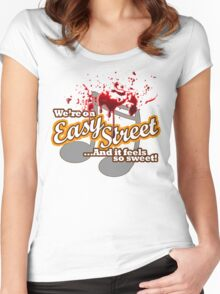 Easy Street Women's Fitted Scoop T-Shirt