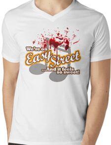 Easy Street Mens V-Neck T-Shirt