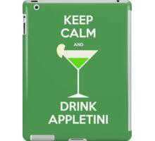 Keep Calm and Drink Appletini iPad Case/Skin