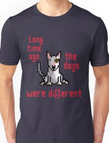 8-bit bull terrier Unisex T-Shirt