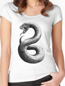 The Cunning Serpent Women's Fitted Scoop T-Shirt