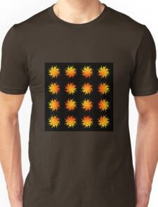 Suns Gradient - Yellow | Red | Black Unisex T-Shirt