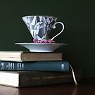 Light reading and a Cup of Tea by Clare Colins