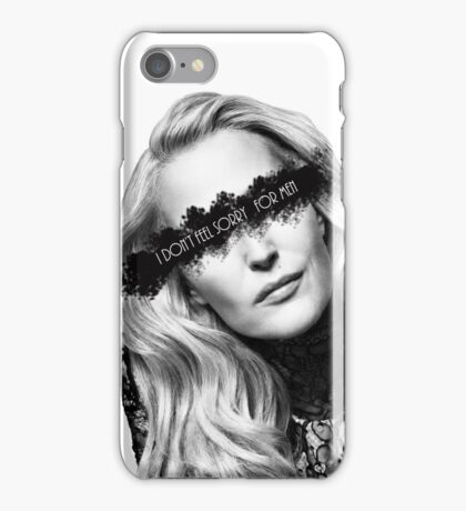 "Gillian Anderson ""I don't feel sorry for men"" iPhone Case/Skin"