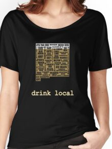 New Mexico Drink Local Beer T-shirt Women's Relaxed Fit T-Shirt