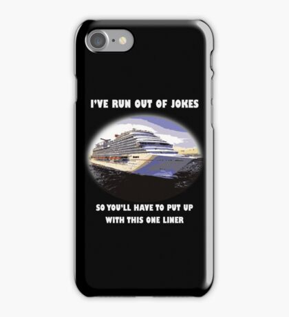 One-liner iPhone Case/Skin